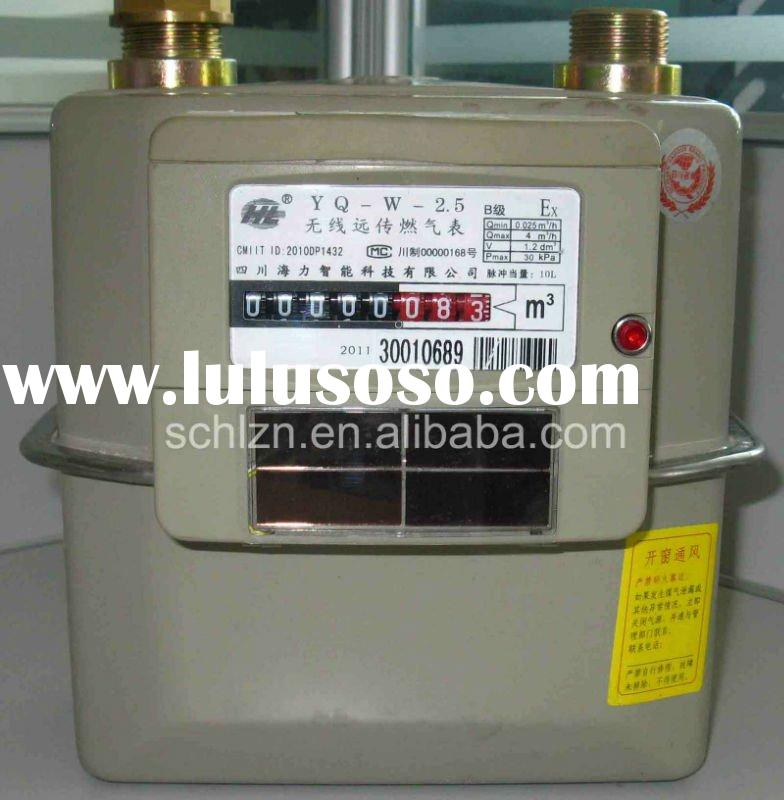 Meter Reading Practice Test : Gas meter reading