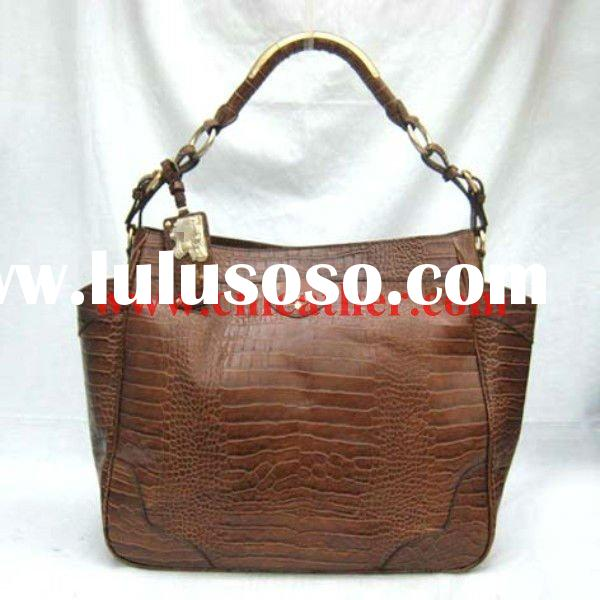 Women Designer genuine leather handbag patterns free