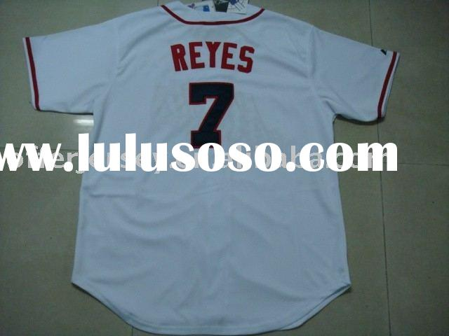 $18.7-$20.0 wholesale mixed order NEW YORK METS stars #7 Jose Reyes white Jersey 48-56