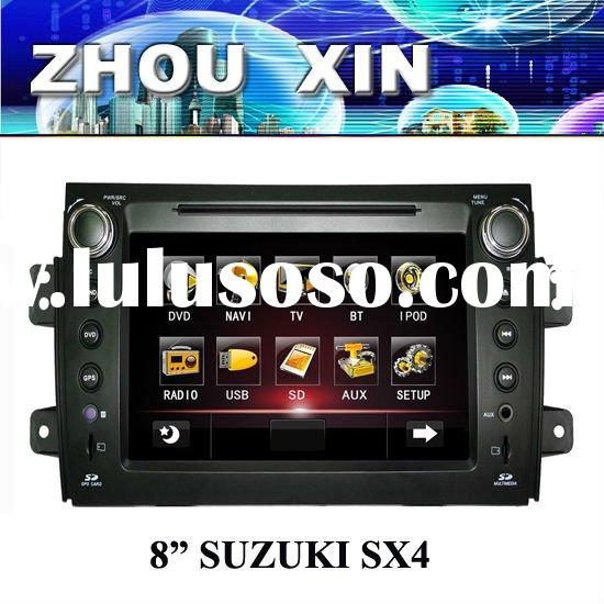 (SUZUKI SX4) 8 inch HD Touchscreen Car Stereo Car DVD Player with GPS