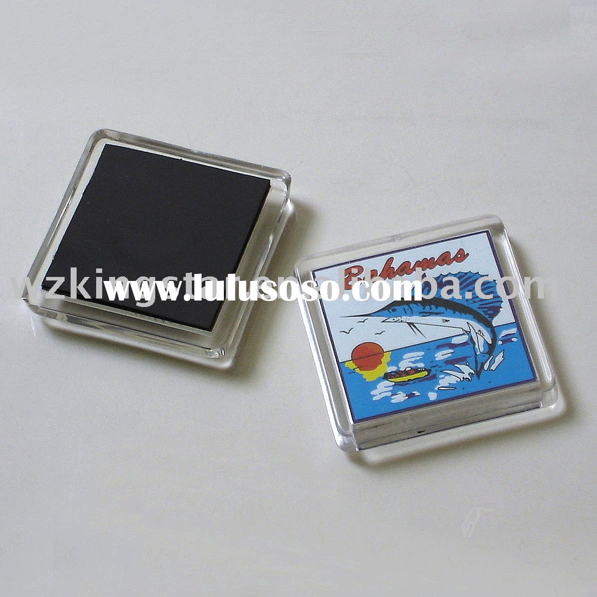 acrylic fridge magnet photo frame
