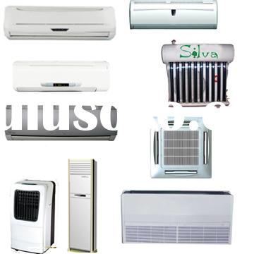 air conditioner wall split mounted type and solar type