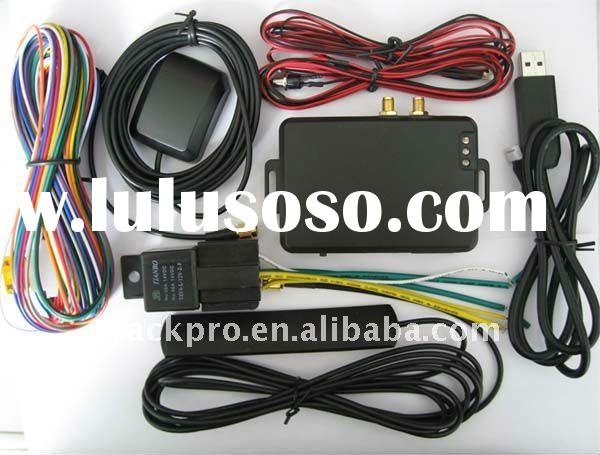 auto GPS tracker with fuel sensor for vehicles
