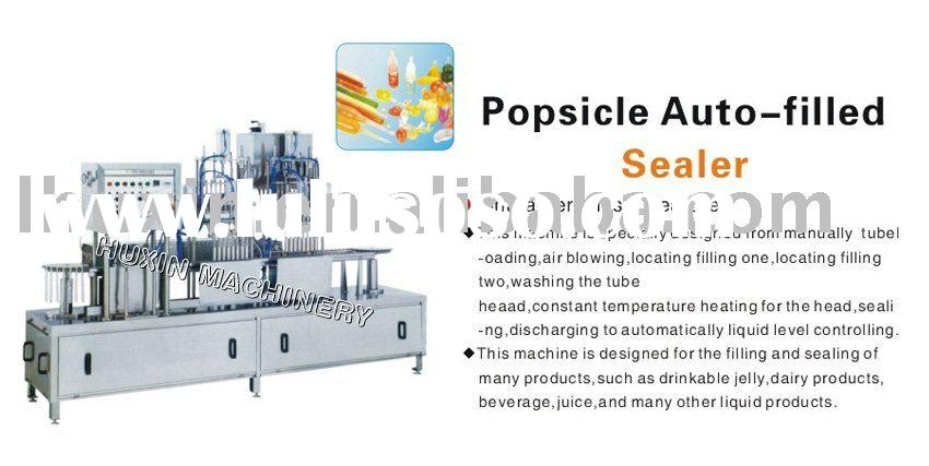 automatic ice lolly filling/sealing machine