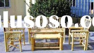 bamboo chair,table,bench and sofa sets