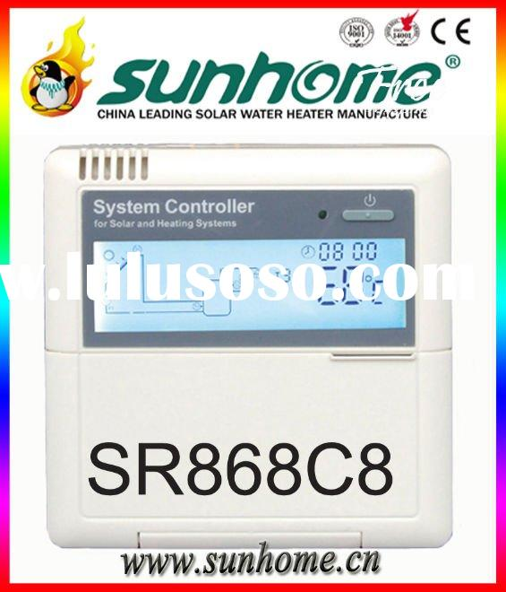 best price 220/110/12V solar water heater controller, solar controller,