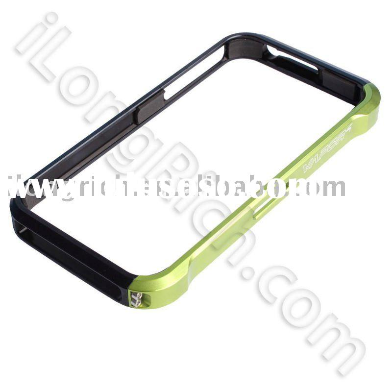 best price Protective Green Aluminum Case For iPhone 4 (accept Paypal)
