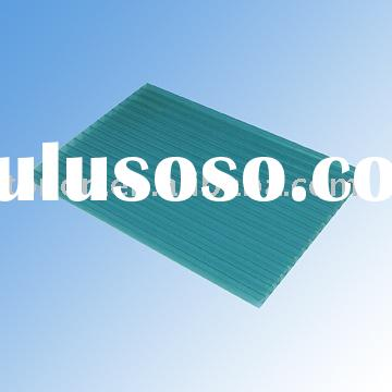 blue plastic sheet for roof of public buildings