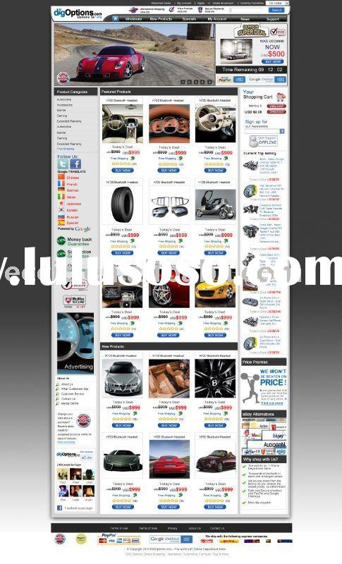 car accessories ecommerce website, car accessories webshop, car online sell, SEO service.