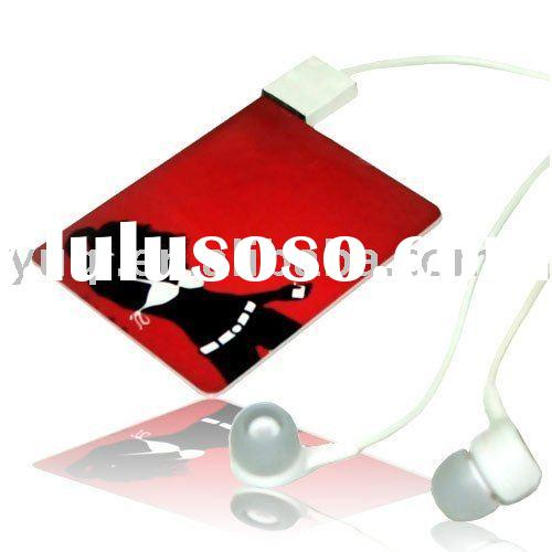 card mp3 player, credit card mp3 player