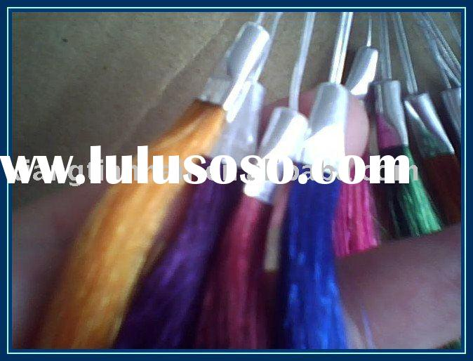 color ring/chart remy hair extension FOB price$0.67 per color
