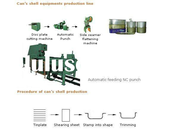complete can making machine/can machinery/can production line