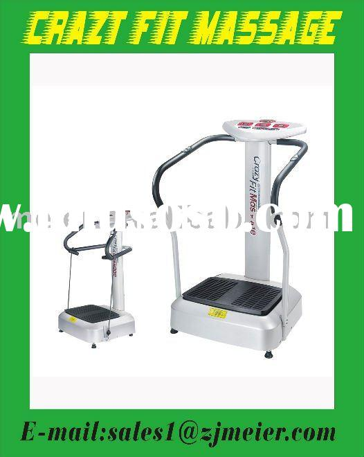 crazy fit message body master vibration machine fitness equipment vibration plate 500W 20 levels