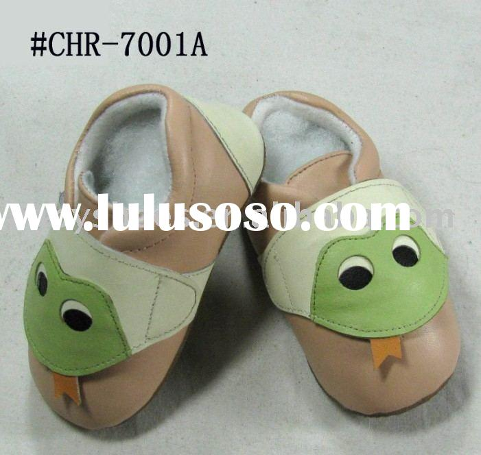 cute soft sole leather baby walking Shoes