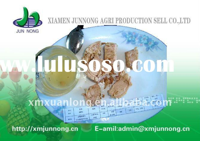 delicious NW125g skipjack tuna chunk canned tuna in oil