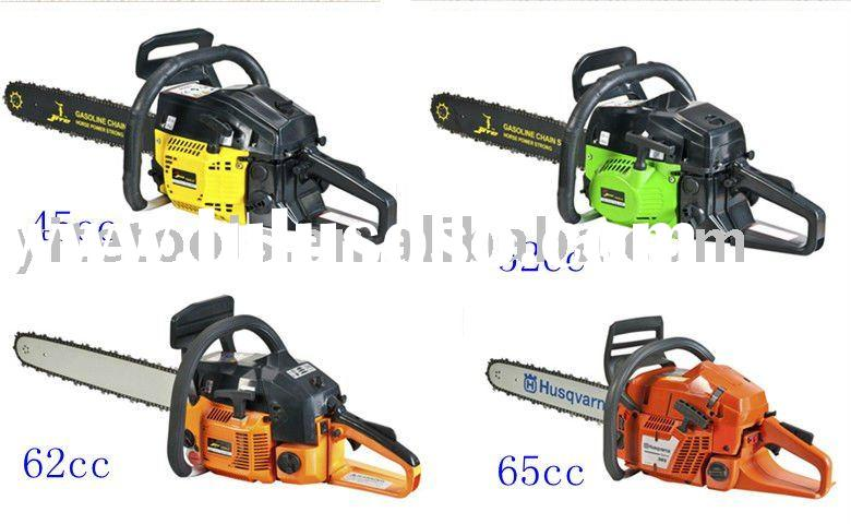 different types of gas chain saw