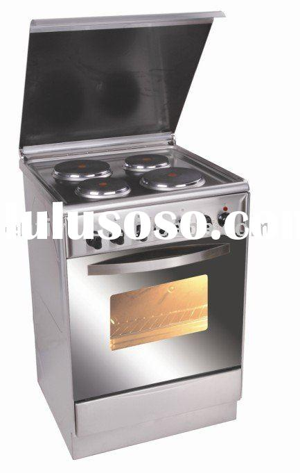 electric free-standing oven