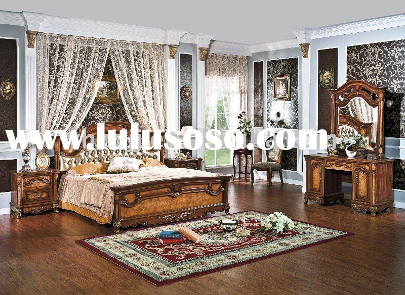 european antique furniture/home furniture bedroom set 8005
