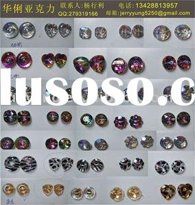 fashion Acrylic buttons