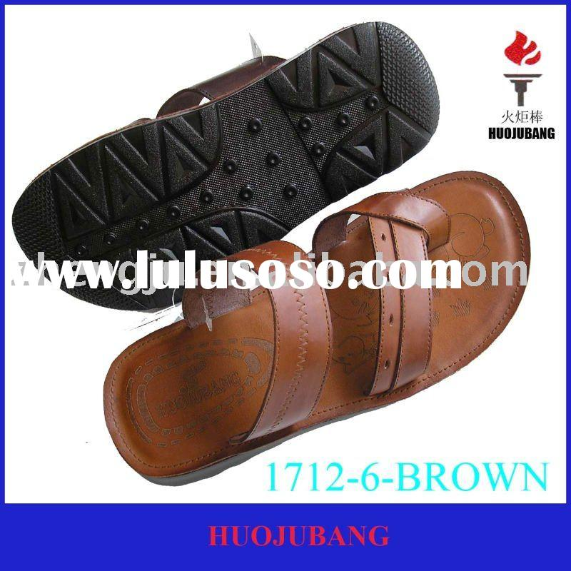 fashion leisure leather men sandals
