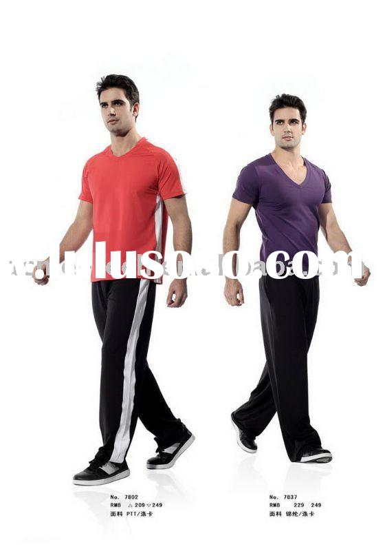 fashionable active and breathable fitness&yoga wear for men