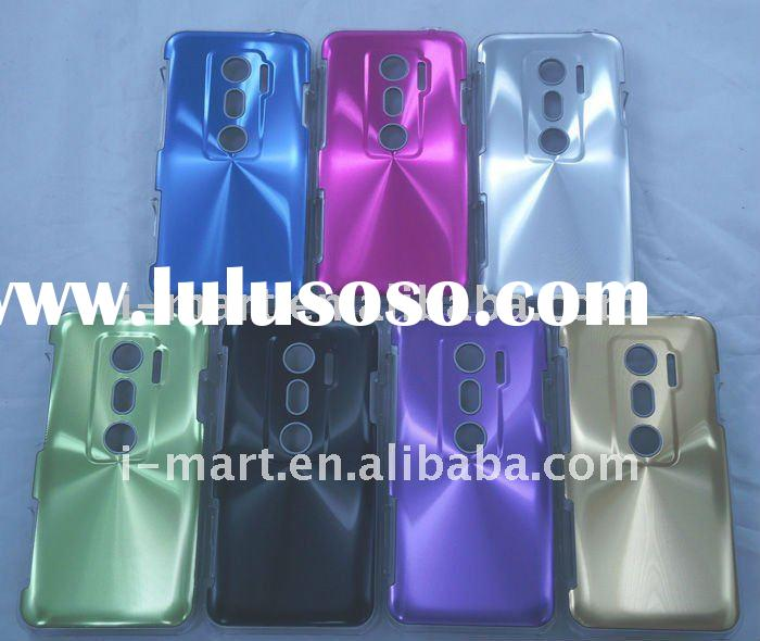 for HTC EVO 3D cover case Shining Aluminium crystal hard case