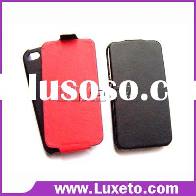 for iPhone 4 cases/Valued PU leather