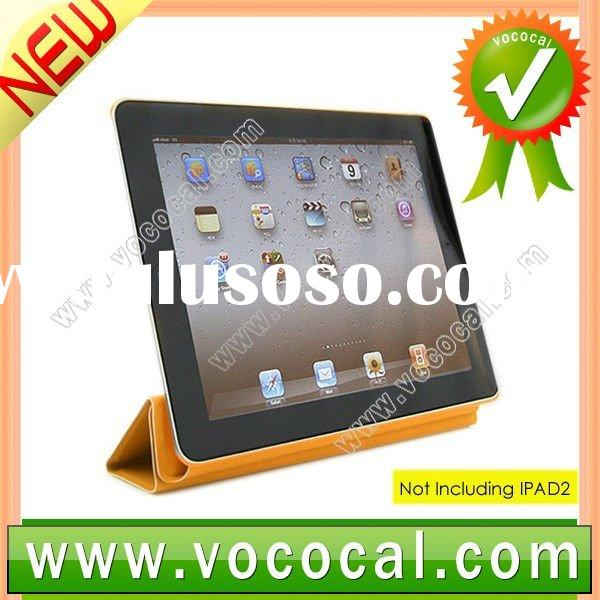 leather case with cute pattern for new ipad 3 or ipad2 and ipad 3 several colors available