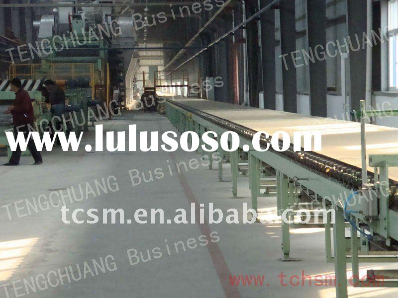 full automatic gypsum board production line