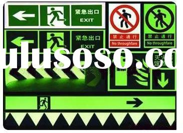 glow in the dark Traffic signs (aluminum signs/road signs/reflective sheeting/safety products)