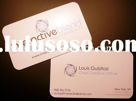 gold foil business cards printing
