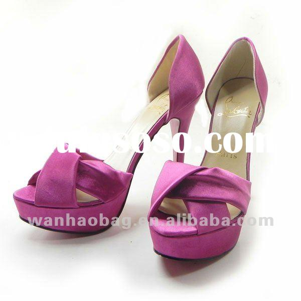 high heel women dress shoes with fashion style,CL16