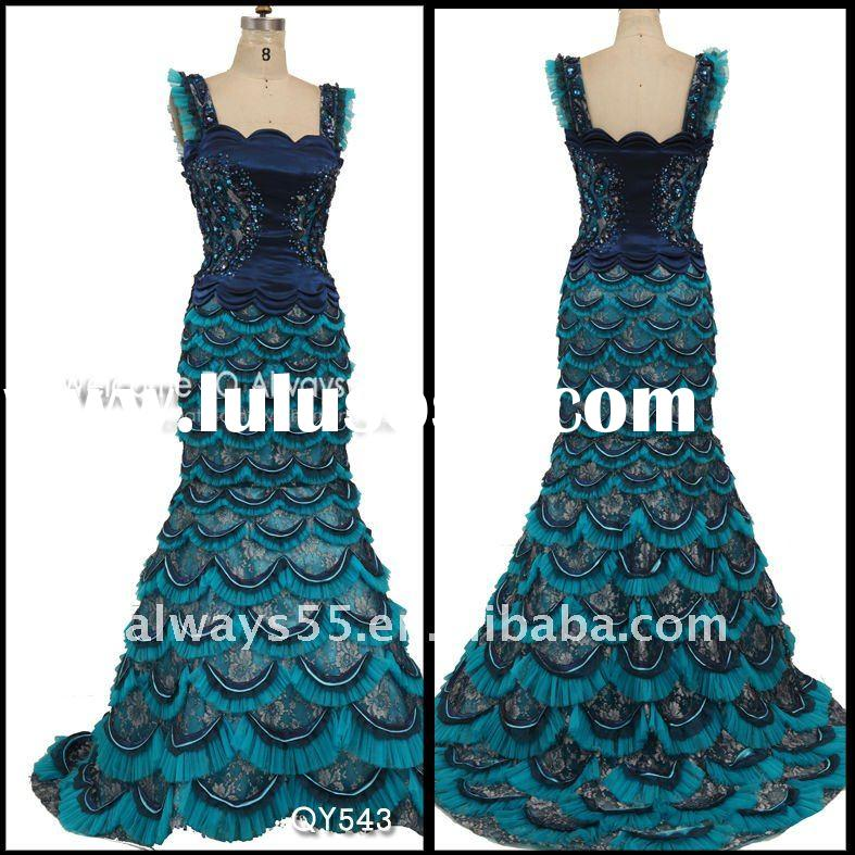 high quality fashion evening dinner dresses qy543