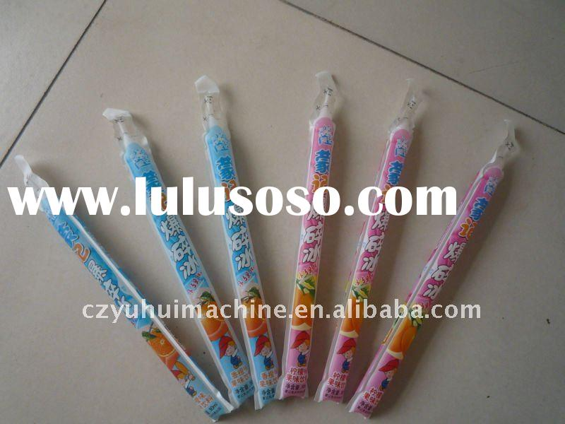 ice lolly bag filling sealing machine