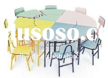 kids study table design/dining table and chair/funny kid's table and chair