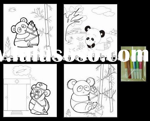 line drawing picture for kids