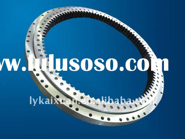 luoyang large four point contact ball slewing ring sliding bearing gear