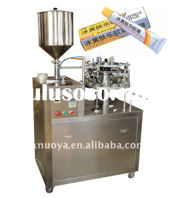 manual tube filling and sealing machine