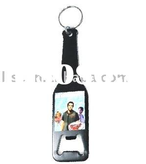 metal bottle opener with key chain/Metal keyring/opener with keychain