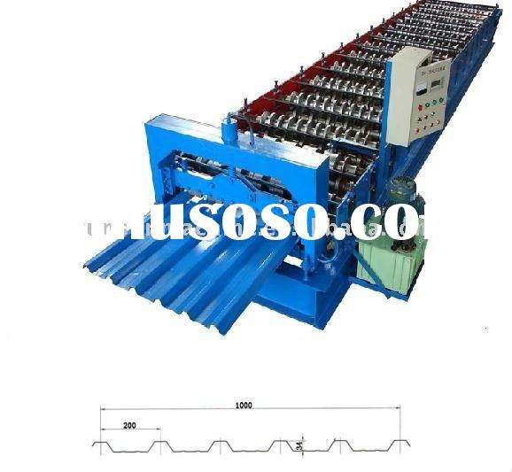 metal sheet roll forming machine for roof panel