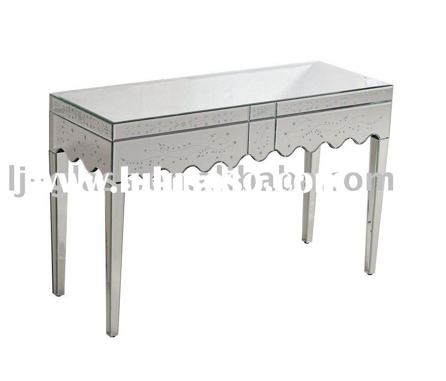 mirrored furniture,bedroom furniture,living room furniture-Tina