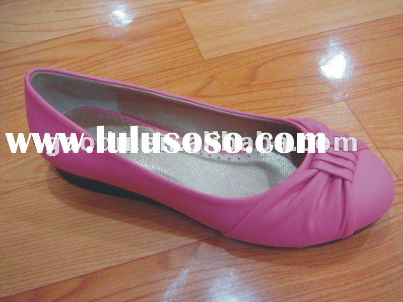 new fashion comfortable women flat shoes 2012