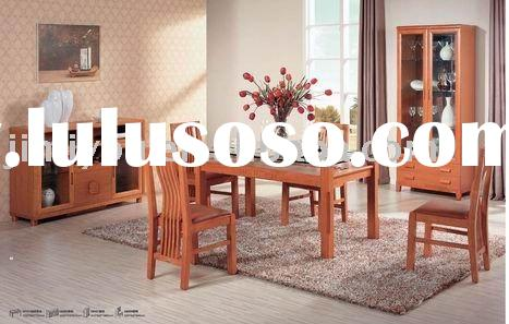 oak solid wood with Mdf dining room sets