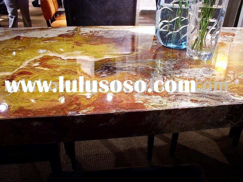 onyx dining table marble