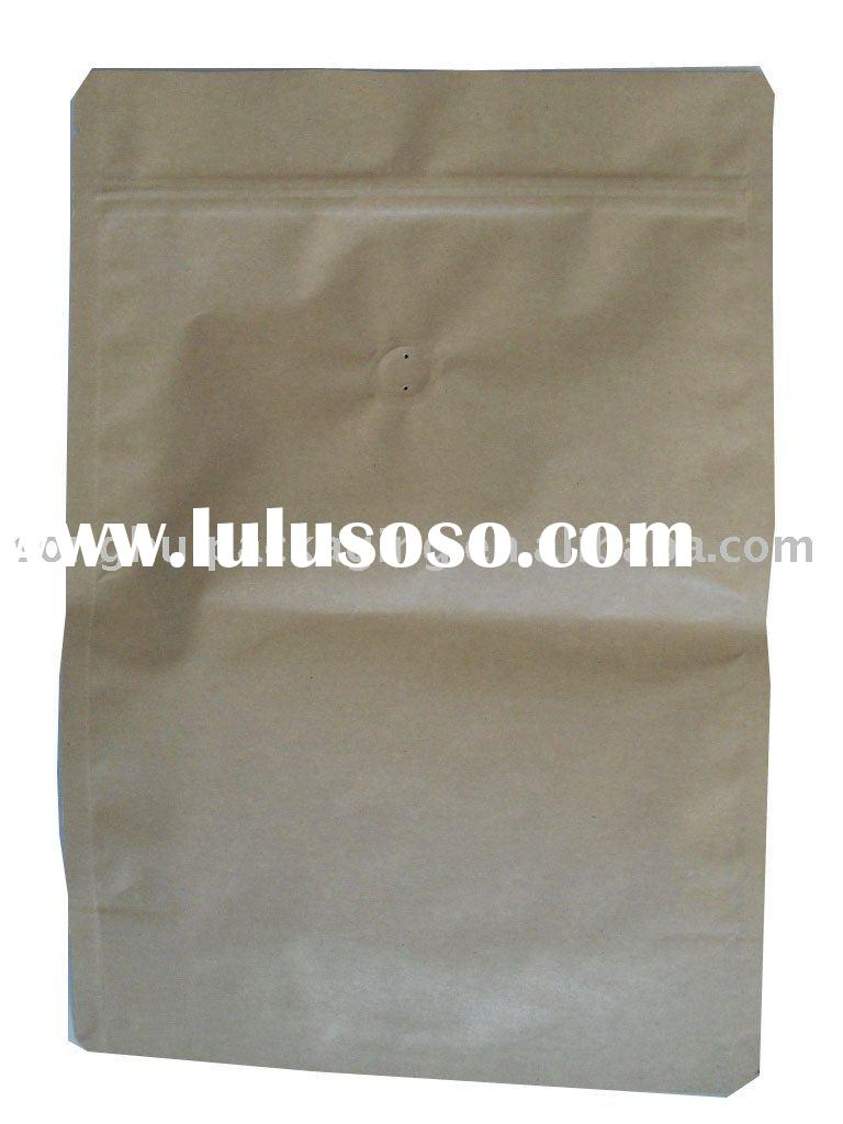 paper with plastic bag