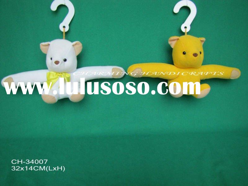 plush toy bear hanger, stuffed soft toy teddy bear hanger