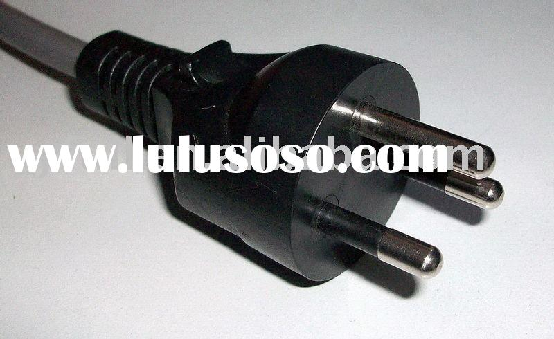 power plug/AC power cord/power cord with plug/power cord/Thailand power cord/plug/extension cord/soc