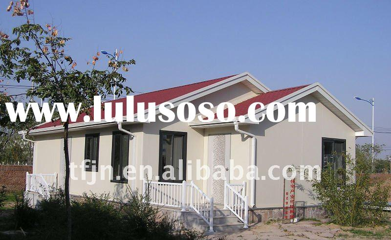 prefabricated house, modular house, modern prefabricated house