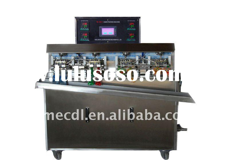 preformed bag liquid filling sealing machine