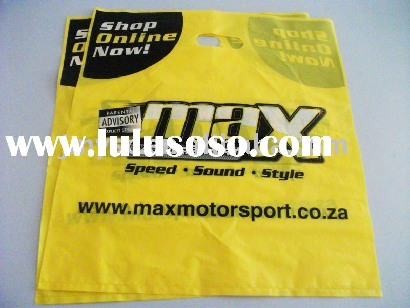 printed shopping&promotional plastic bag